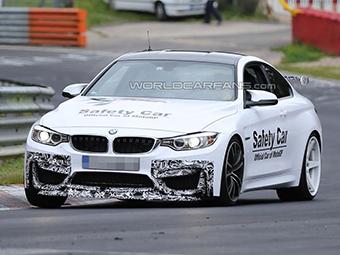Компания BMW вывела на тесты первую спецверсию купе M4