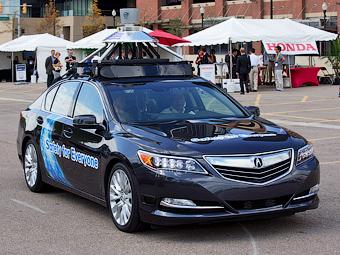«Хонды» с автопилотом появятся в 2020 году