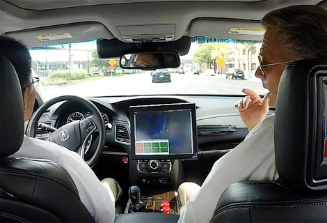 Японцы начали испытания беспилотника на базе седана Acura RLX