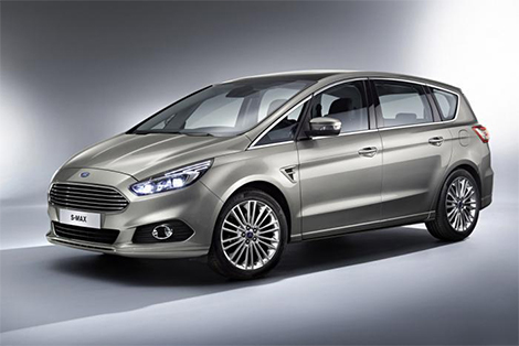 "Ford S-Max сделали похожим на обновленный ""Фокус"". Фото 1"