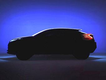 Toyota намекнет концептом на компактный кроссовер