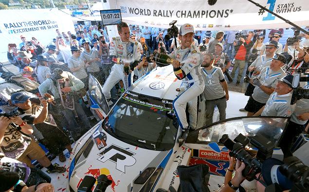 Пилоты VW заняли все места на подиуме Ралли Австралии и принесли команде титул. Фото 1