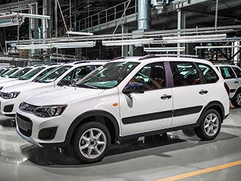 «АвтоВАЗ» разбил вседорожную «Калину» на краш-тесте