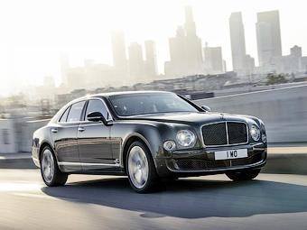 Компания Bentley представила «заряженный» Mulsanne
