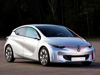 Компания Renault показала сверхэкономичный концепт-кар
