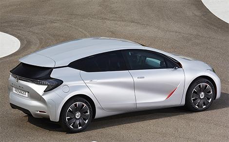 Прототип Renault Eolab потребляет литр топлива на 100 километров пробега