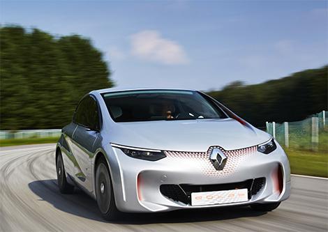 Прототип Renault Eolab потребляет литр топлива на 100 километров пробега. Фото 1