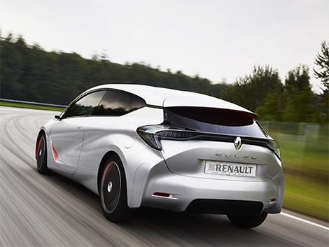 Прототип Renault Eolab потребляет литр топлива на 100 километров пробега. Фото 4
