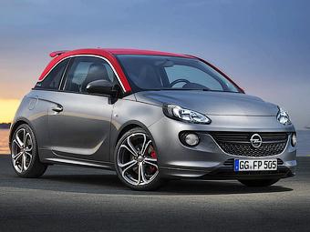 Стала известна динамика «заряженного» Opel Adam