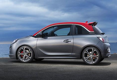 Opel Adam S разгонится до «сотни» за 8,5 секунды. Фото 1