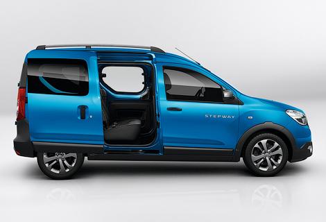 Dacia подготовила для Lodgy и Dokker версию Stepway