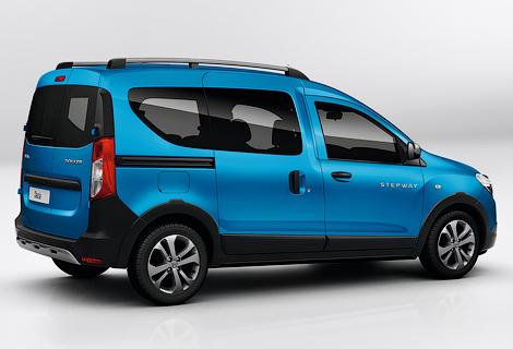 Dacia подготовила для Lodgy и Dokker версию Stepway. Фото 1