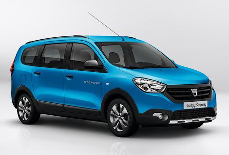 Dacia подготовила для Lodgy и Dokker версию Stepway. Фото 2