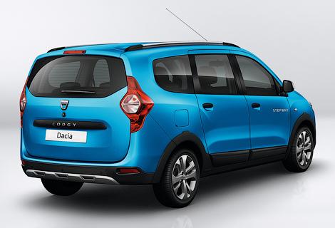 Dacia подготовила для Lodgy и Dokker версию Stepway. Фото 3