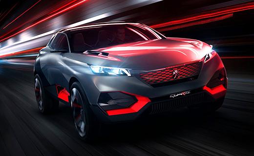 Компания Peugeot показала 499-сильный гибридный кроссовер