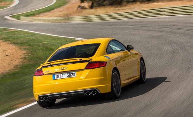Тест-драйв Audi TT - спорткупе, в котором сила неплохо уживается с интеллектом. Фото 9