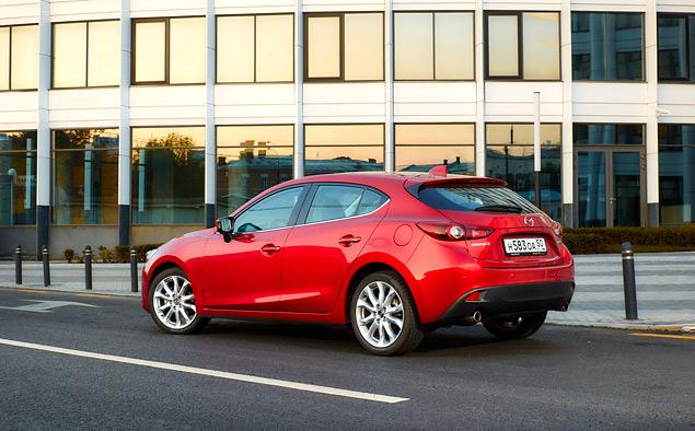 Длительный тест Mazda3: знакомство и первые впечатления. Фото 3