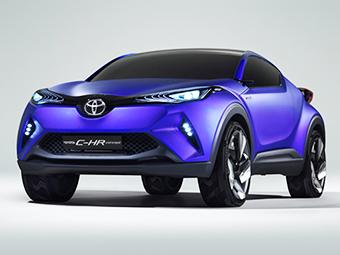 В Сети рассекретили предвестника компактного кроссовера Toyota