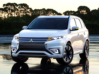 Mitsubishi показала дизайн будущих моделей
