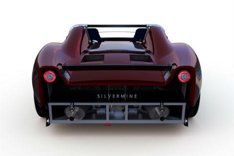 Компания Silvermine рассекретила дизайн спорткара 11SR. Фото 1