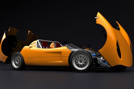 Компания Silvermine рассекретила дизайн спорткара 11SR. Фото 2