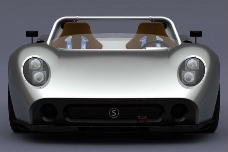 Компания Silvermine рассекретила дизайн спорткара 11SR. Фото 3
