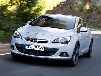 Российский Opel Astra GTC обзавелся 199-сильным турбомотором