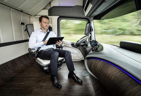 Немецкая компания показала свое видение грузовика будущего. Фото 2