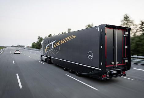Немецкая компания показала свое видение грузовика будущего. Фото 3