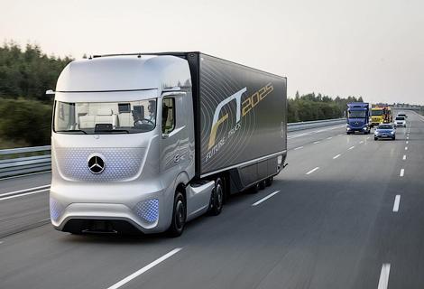 Немецкая компания показала свое видение грузовика будущего. Фото 4