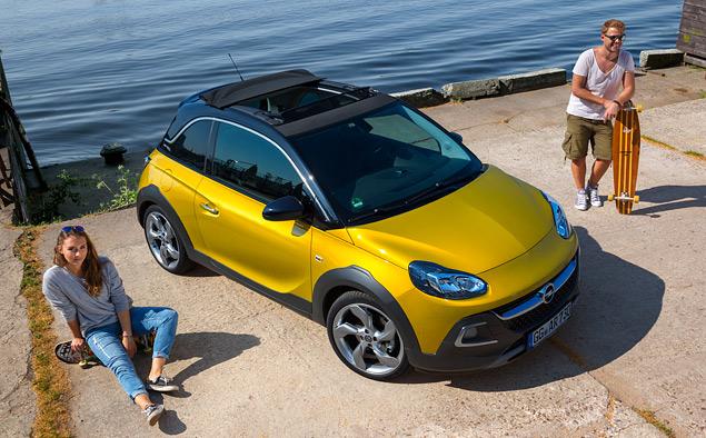 Тест-драйв Opel Adam Rocks, или как кабриолет с кроссовером одну машину не поделили