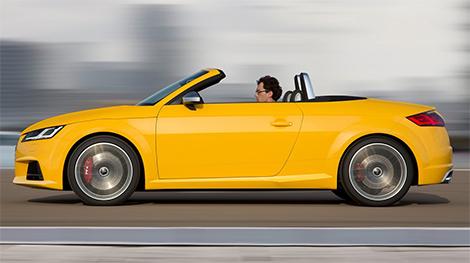 Родстер Audi TT нового поколения привезут в Париж. Фото 2