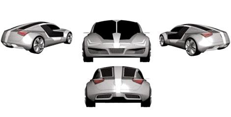 «Сеат» запатентовал концепт-кар под названием GT. Фото 1