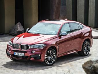 Названы рублевые цены BMW X6 нового поколения
