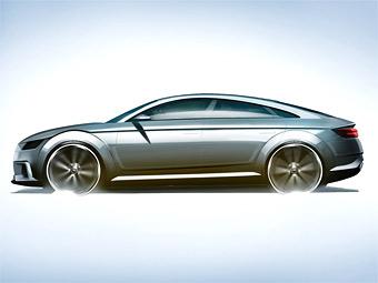 Audi переделает купе TT в четырехдверный концепт