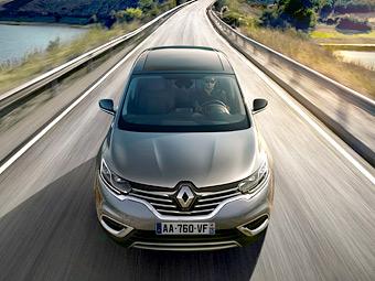 Компания Renault перестала скрывать внешность нового Espace