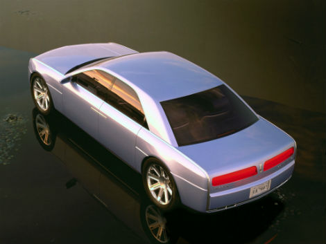 С молотка уйдет концептуальный Lincoln Continental 2002 года выпуска. Фото 1