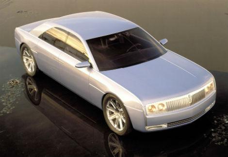 С молотка уйдет концептуальный Lincoln Continental 2002 года выпуска. Фото 2
