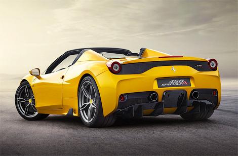Компания Ferrari выпустит ограниченным тиражом модель 458 Speciale A