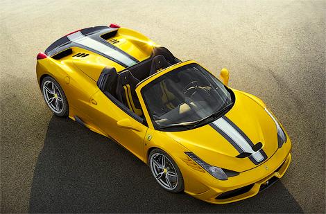 Компания Ferrari выпустит ограниченным тиражом модель 458 Speciale A. Фото 1