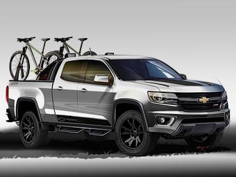 Компания Chevrolet представила два концептуальных пикапа