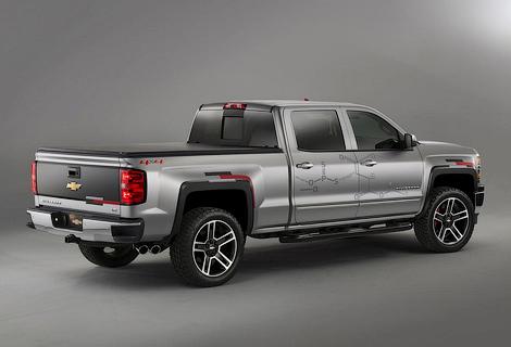 Американцы показали спецверсии моделей Colorado и Silverado. Фото 2