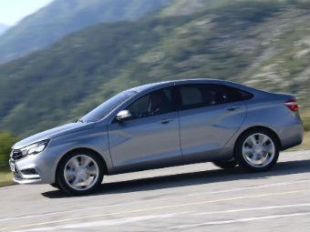 Lada Vesta будут собирать в Казахстане
