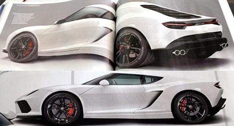 В Сети рассекретили купе Lamborghini Asterion