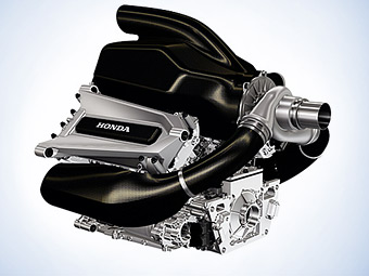 """""""Хонда"""" перестала скрывать новый турбомотор для Формулы-1"""