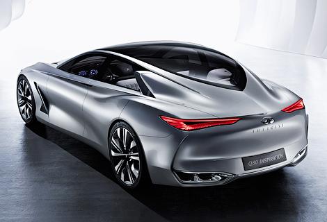 Компания привезет на Парижский автосалон концепт-кар Q80 Inspiration. Фото 3