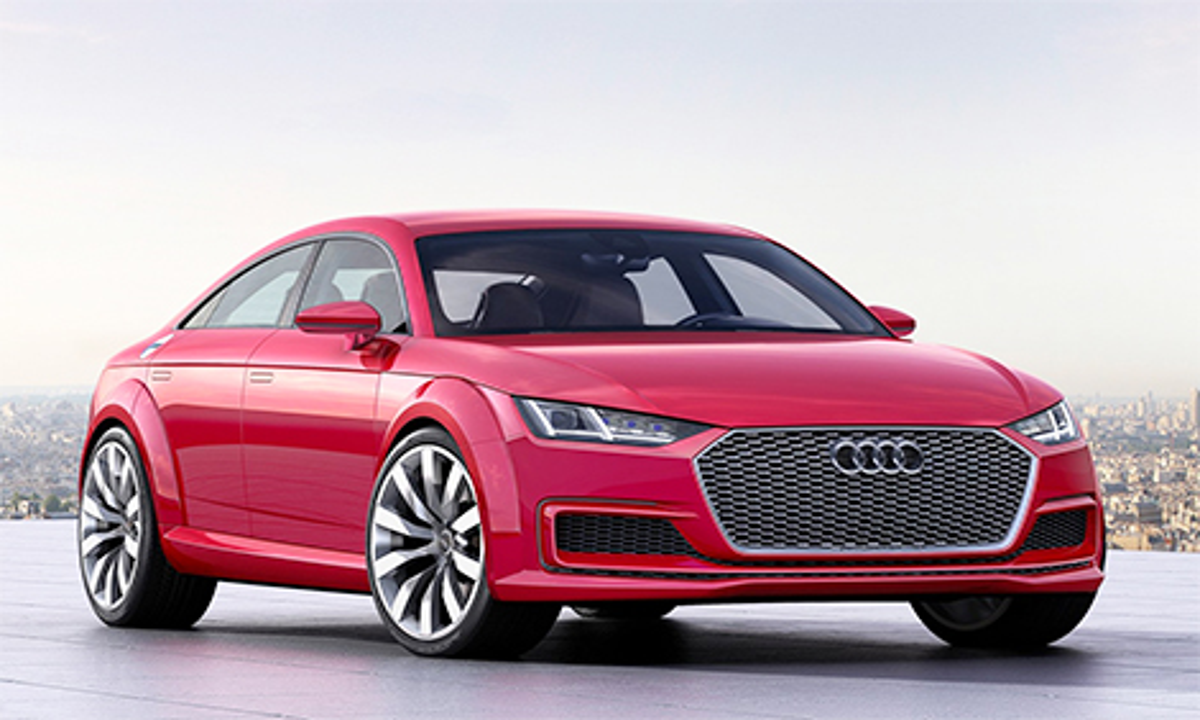 В Париже дебютировал концепт-кар Audi TT Sportback. Фото 1