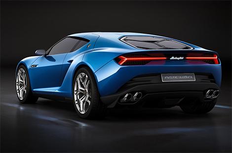 Прототип Lamborghini Asterion получил 910-сильную силовую установку