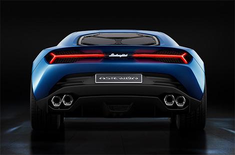 Прототип Lamborghini Asterion получил 910-сильную силовую установку. Фото 1