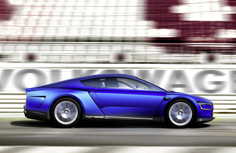 В Париже дебютировал Volkswagen XL Sport с мотором от спортбайка